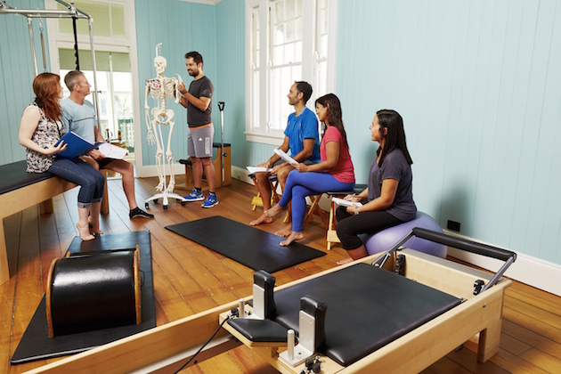 accredited pilates instructor courses