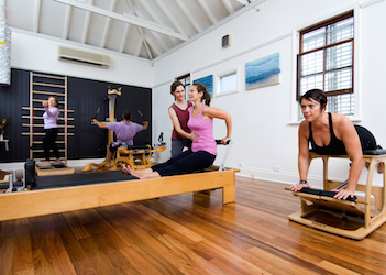 pilates exercises and pilates studio classes Brisbane