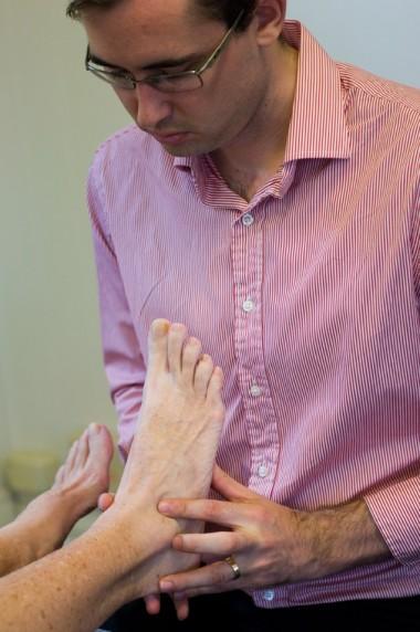 Nick Sprenger podiatrist West End Brisbane