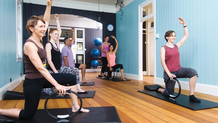 Pilates Mat Classes Brisbane