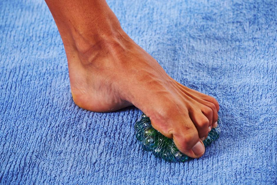 foot sensitivity exercises