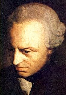 Immanuel Kant hand quote