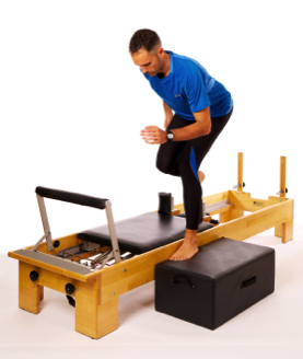 Scooter on reformer