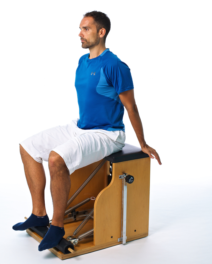 ankle stiffness wound chair pilates exercise