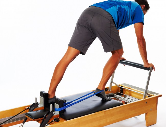 Reformer foot exercises