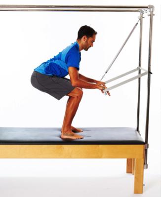 mini squat for patella rehabilitation