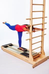 CoreAlign arabesque progression for hamstrings