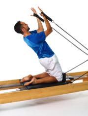 pilates reformer hamstring exercise