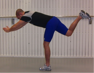 the diver hamstring exercise