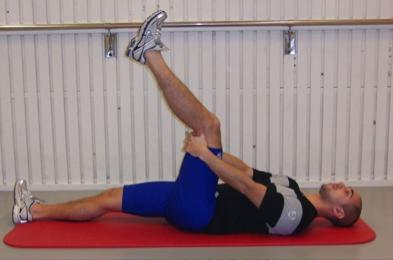 The Extender hamstring strain exercise
