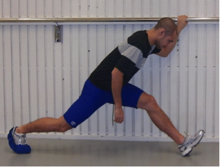 the glider hamstring exercise