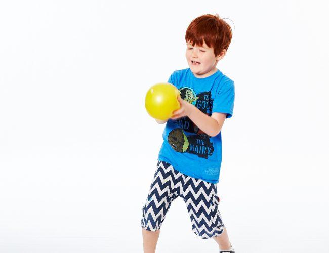 exercises for children catching balls develops shoulder strength