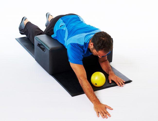 Spondylolisthesis exercise 4 Point Kneeling