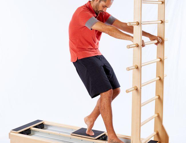 Spondylolysis exercise Hoof with Flexion on CoreAlign