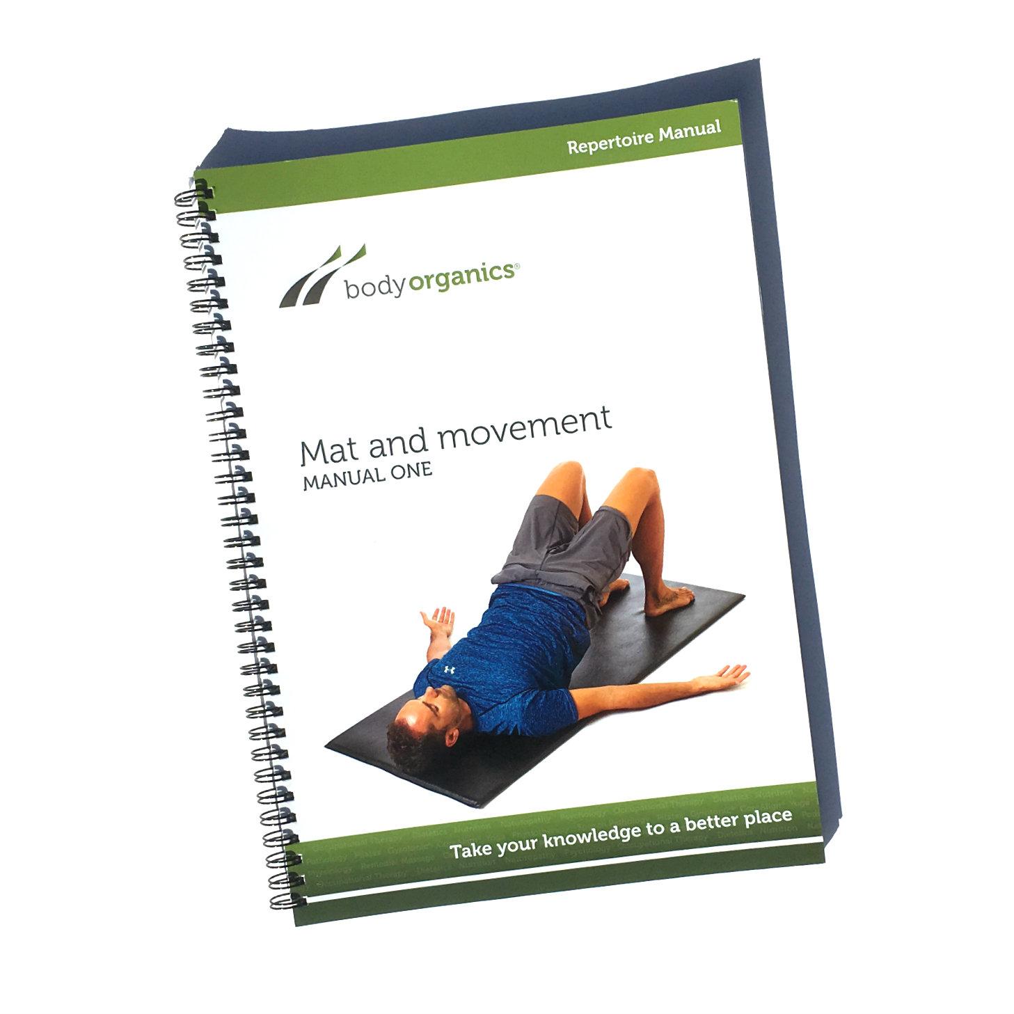 Mat And Movement Pilates Manual