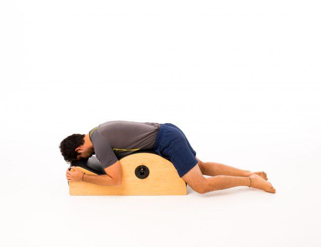 Spondylolisthesis exercise Prone on the Spine Corrector