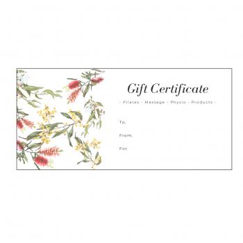 Gift Certificate Massage Brisbane