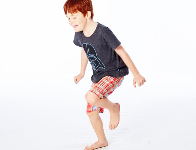 child balancing